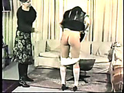 Poor schoolgirl was brutally spanked