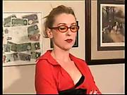 Slutty schoolgirl got bare bottom OTK spanked