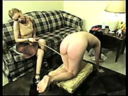 Really hardcore caning and spanking