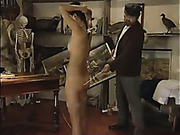 Relentless punishment for cute young ass