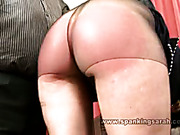 Spanking and paddling for daughter