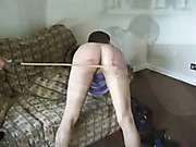 Working men caned a greedy house owner bitch