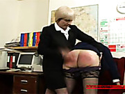 Horny MILF sucked and got fucked and spanked