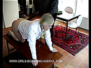 Guidance counselor spanked poor teen ass