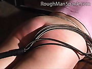 Nice whipping for housewife