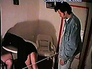 Hot waitresses spanked harsh