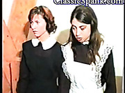 Kinky dude spanked maid