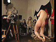 Bad maids with bare asses brutally punished