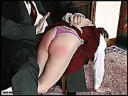 School bully got spanking from a headmaster