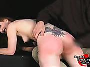 Spanking instead of fucking with boyfriend
