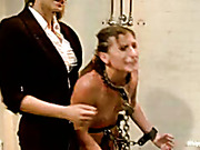 Taste of lesbin punishment in prison