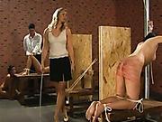 Women treated like dogs in the kinky club