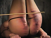 Extremely hard caning in the kitchen