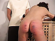 Spanking torture in the examination room