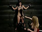 Famous porn star got her ass spanked rough