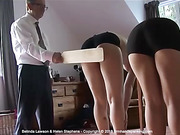 Belinda and Helen are PADDLED