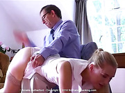 Amelia Rutherford a repeat spanking