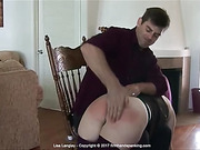 Head cheerleader spanked for a prank at school