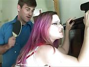 Lisa Langley gets a bare bottom spanking