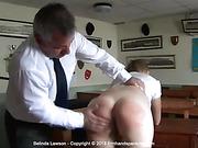 Belinda Lawson says a bare bottom spanking is good