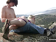 Stevie's SERIOUS Outdoor Punishment Part 1
