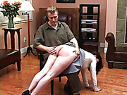 This traditional, all-hand spanking