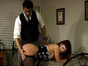 Ruby Tuesday strapped masturbated