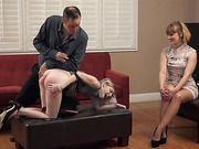 Violet Bends Over For More Punishment