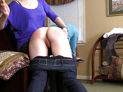 Bianca's Hairbrush Spanking - Part 1