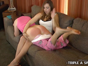 Spanked by the babysitter