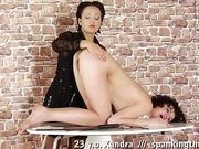 From OTK spanking to self pussy thrashing