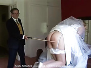 Pre-wedding caning finale on Amelia Rutherford's perfectly