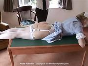Nurse Amelia Rutherford gets a taste for discipline, but it