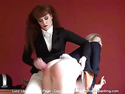 HOT ALL-NEW GIRL-GIRL SPANKING SERIES WITH LUCY LAUREN & ZOE