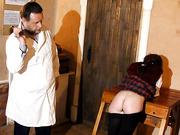 Schoolgirls punishment 2.