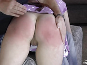 AVA PUNISHED BY DADDY