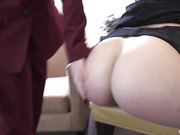 Juliette Spanked, Paddled in Wet Panties, Caned and Penalty