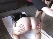 Arielle Spanked Paddled in Wet Panties Hairbrushed and