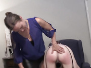 Apricot Spanked Paddled and Caned Part Two