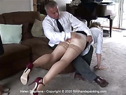 Helen Stephens and Belinda Lawson in a spanking new series