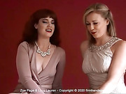 Exclusive interview with Lucy Lauren and Zoe Page in Candid