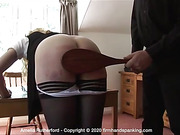 Humiliating experience for Amelia Rutherford as she submits