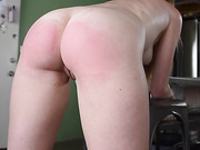 Nude Kitchen Discipline- Belt And Spoon For Ashley Lane