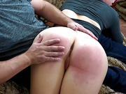 Bare Bottom Blistered- Maddy Marks Paddled - Spankflix And