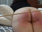 Oiled Paddling And Caning - Summer Swats For Trixie