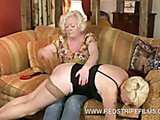 Mature housewife wants some lezdom spanking