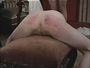 Master bound and brutally caned a skinny girl