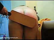 Endless amount of spanking for Maggy