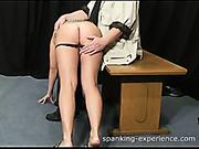 OTK spanking for nude photos