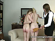 Pleasure, bondage and strapping ended in tears
